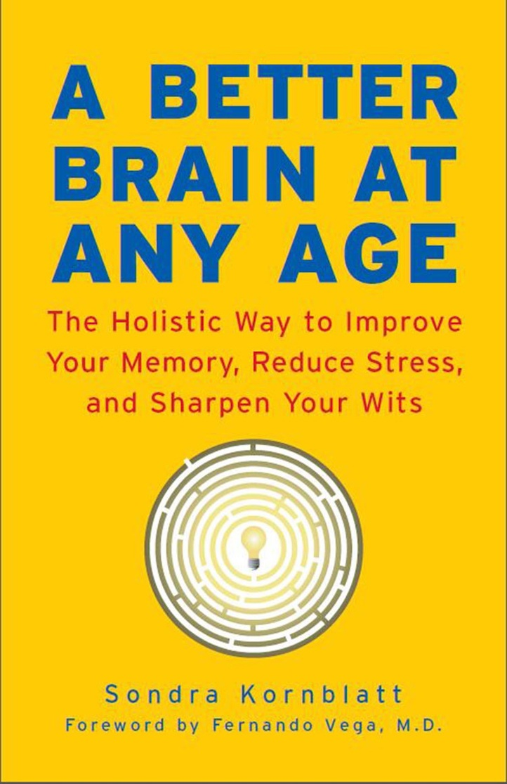 Book cover, Better Brain at Any Age