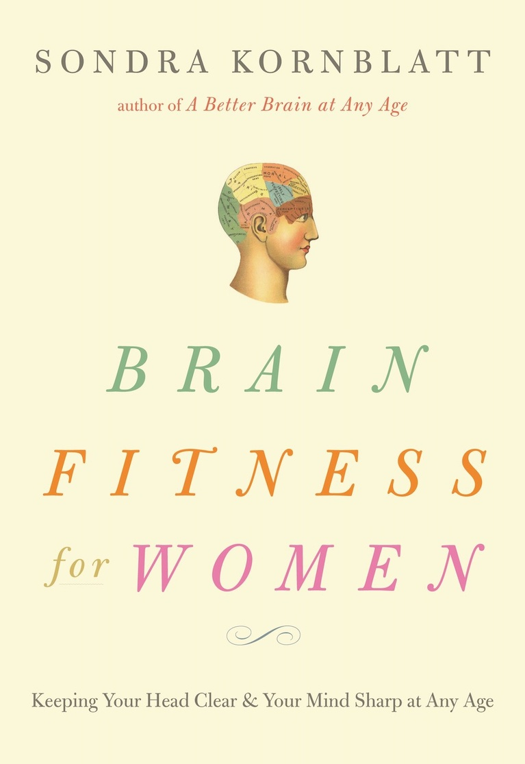 Book cover, Brain Fitness for Women