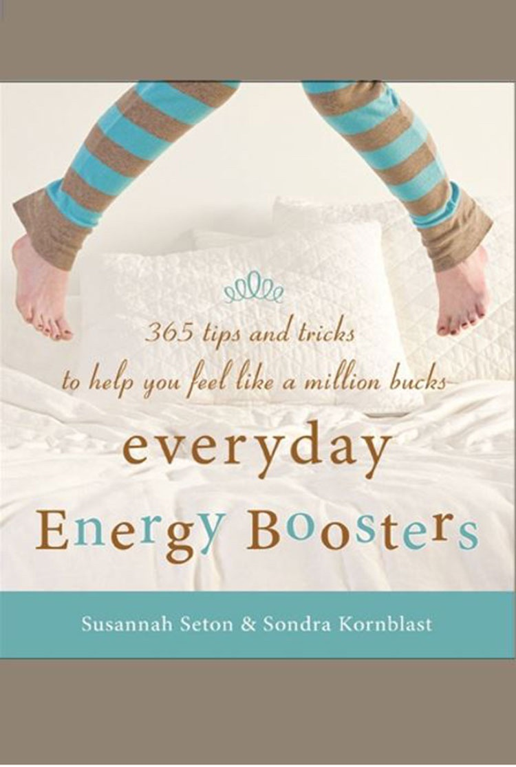 Book cover, Everyday Energy Boosters