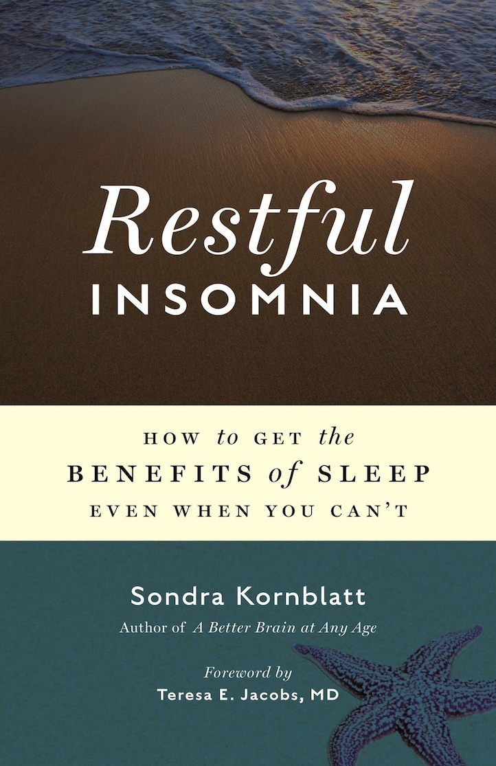 Book cover, Restful Insomnia