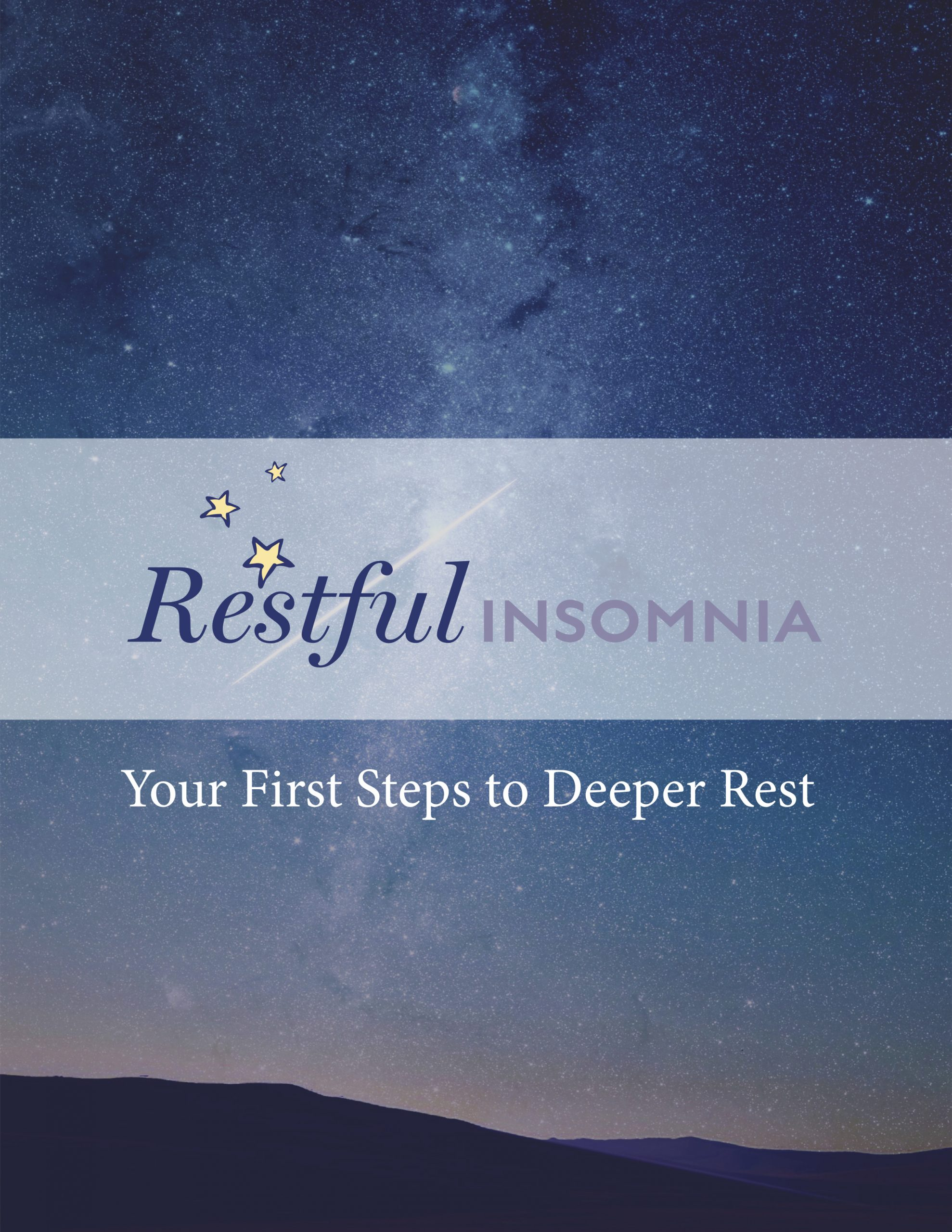 Cover, Your First Steps to Deeper Rest